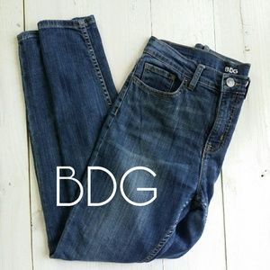 BDG high-rise twig ankle skinny jeans